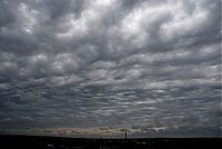 World & Travel: clouds formation