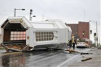 TopRq.com search results: Collapse of the church dome because of strong wind, driver survived, Shreveport, Louisiana