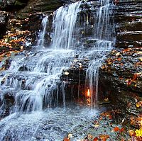 TopRq.com search results: Eternal Flame Falls, Shale Creek Preserve, Chestnut Ridge Park, New York City, United States
