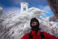 TopRq.com search results: Extreme windswept ice formations by Marko Korošec, Mount Javornik, Dinarides, Slovenia