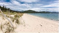 TopRq.com search results: Awaroa Bay beach, Abel Tasman National Park, New Zealand, South Pacific Ocean
