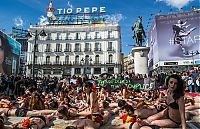 TopRq.com search results: Protest against bull fighting, Madrid, Spain