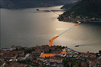 TopRq.com search results: Floating piers, Lake Iseo, Lombardy, Italy