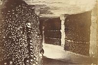 Mines of tunnel network, Catacombes de Paris, Paris, France