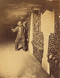 TopRq.com search results: Mines of tunnel network, Catacombes de Paris, Paris, France