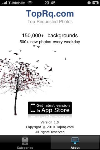 Top Photos iPhone Screenshot 1