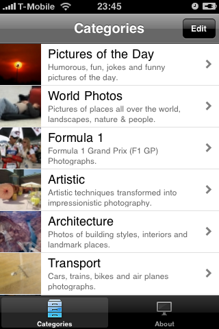 Top Photos iPhone Screenshot 2